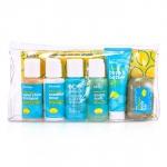 Набор из 6 средств Lemon & Sage Sinkside: масло для тела + жидкое мыло + шампунь + кондиционер + средство для мытья тела + мыло 6шт.+1bag