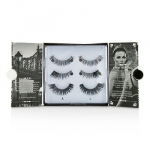 The New York Edit False Lashes Multipack - # 114, # 118, # 107 (Adhesive Included)