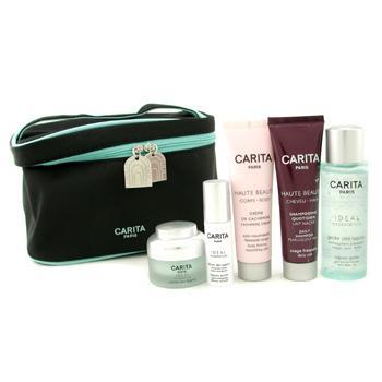 Набор идеальное увлажнение: гель Lagoon + сыворотка + крем + крем Cashmere + ежедневный шампунь + сумка 5шт.+1bag