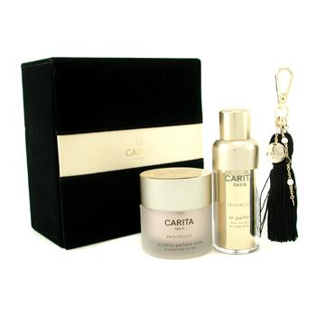 Progressif Perfect Collection: Perfect Gold Serum + Body Perfect Cream + Pendant + Box