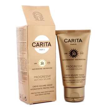 Progressif Anti-Age солнце защтныуй увлажняющий крем для лица с фактором SPF 30 (коробка слегка повреждена) 50мл./1.69oz