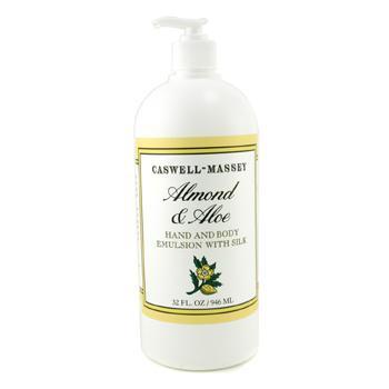 Эмульсия для рук и тела Almond & Aloe с шелком 946мл./32oz