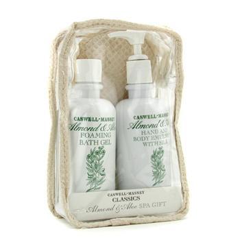 Спа-подарок Almond & Aloe: пена для ванны + лосьон для тела + отшелушивание + сумка 3шт.+1bag