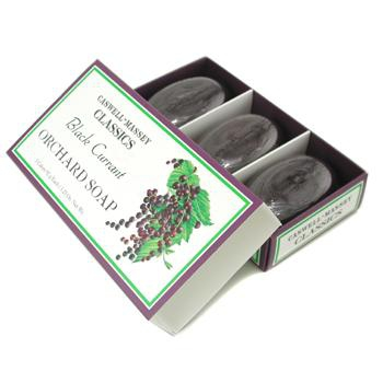 Трио мыла Black Currant Orchard Soap  3x92г./3.25oz