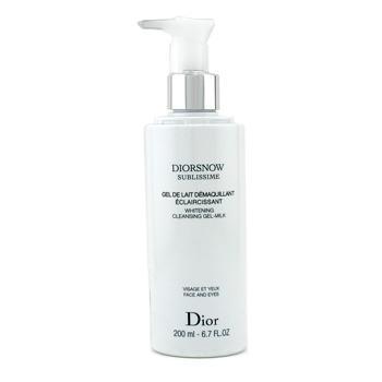 Отбеливающее очищающее молочко-гель DiorSnow Sublissime 200мл./6.7oz