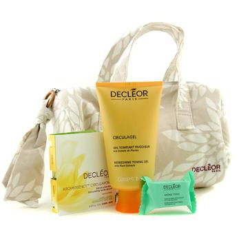 Коллекция Aroma Dynamic Natural Beauty: гель-тоник + сыворотка для тела + шипучие таблетки для ванн + сумка 3шт.+1bag
