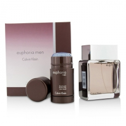 Euphoria Coffret: Eau De Toilette Spray 100ml/3.4oz + Deodorant Stick 75g/2.6oz