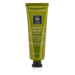 Face Scrub With Olive - Deep Exfoliating