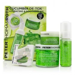 Cucumber Detox Kit: Gel Mask 150ml/5oz + Foaming Cleanser 30ml/1oz + Hydrating Gel 15ml/1oz + Eye-Cu