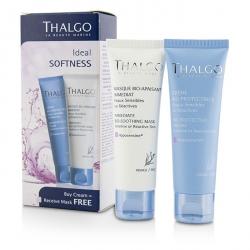 Ideal Softness Kit: Bio-Protective Cream 50ml + Immediate Bio-Soothing Mask 50ml