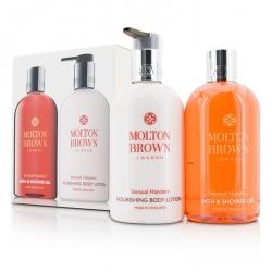 Sensual Hanaleni Bath & Body Set: Bath & Shower Gel 300ml/10oz + Nourishing Body Lotion 300ml/10oz