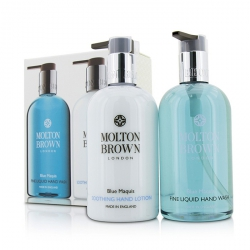 Blue Maquis Hand Care Set: Fine Liquid Hand Wash 300ml/10oz + Soothing Hand Lotion 300ml/10oz