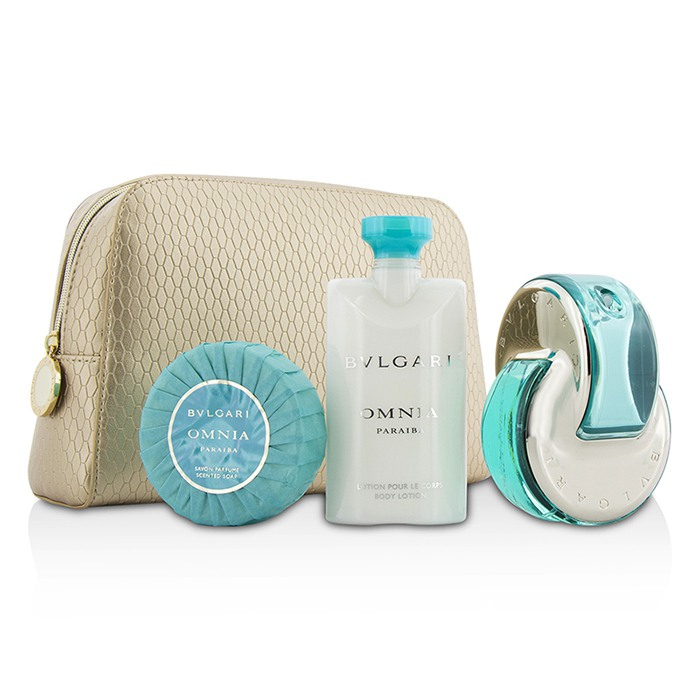 cd78de6543f29 Omnia Paraiba Coffret  Eau De Toilette Spray 65ml 2.2oz + Body Lotion 75ml.  Zoom