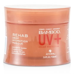 Bamboo Color Hold+ Color Protection Rehab Deep Hydration Masque (For Strong, Vibrant, Color Protected Hair)