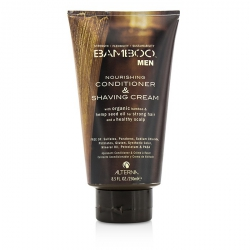 Bamboo Men Nourishing Conditioner & Shaving Cream