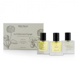 La Collection Voyage Pour Lui Eau De Parfum Spray Collection: Feuilles De Tabac + La Fumee + Le Petit Grain