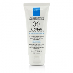 Lipikar Podologics Smoothing And Restoring Lipid-Replenishing Foot Care Concentrate