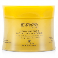 Bamboo Smooth Kendi Intense Moisture Masque (For Strong, Sleek, Frizz-Free Hair)