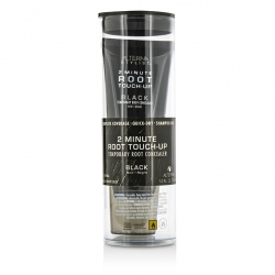 Stylist 2 Minute Root Touch-Up Temporary Root Concealer - # Black