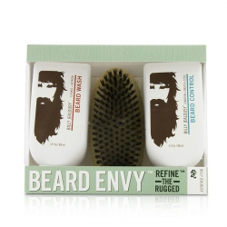 Beard Envy Kit: Beard Wash 88ml + Beard Control 88ml + brush 1pcs