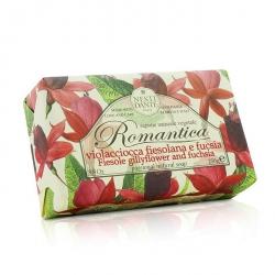Romantica Passional Natural Soap - Fiesole Gillyflower & Fuchsia