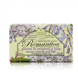Romantica Enchanting Natural Soap - Tuscan Wisteria & Lilac