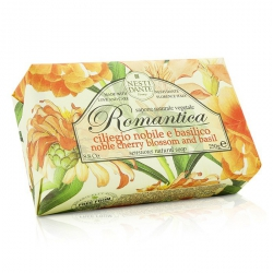 Romantica Sensuous Natural Soap - Noble Cherry Blossom & Basil