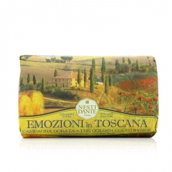 Emozioni In Toscana Natural Soap - The Golden Countryside
