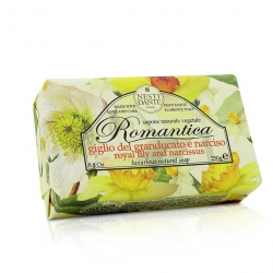 Romantica Luxurious Natural Soap - Royal Lily & Narcissus