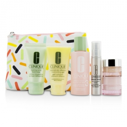 Travel Set: Sonic Facial Soap + Clarifying Lotion 3 + DDMG + Smart Serum + Moisture Surge Intense +