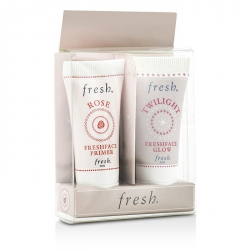 Prime & Glow Набор: 1x Mini Rose Freshface Праймер, 1x Mini Twilight Freshface Glow
