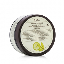 Mineral Botanic Rich Body Butter - Lemon & Sage