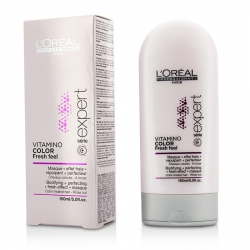 Professionnel Expert Serie - Vitamino Color Fresh Feel Bodifying + Perfecting <Fresh Effect> Masque - Rinse Out