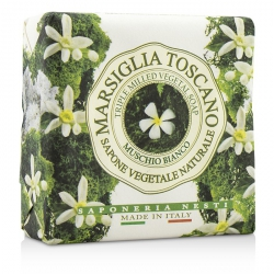 Marsiglia Toscano Triple Milled Vegetal Soap - Muschio Bianco