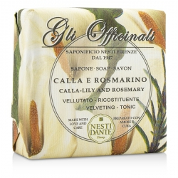 Gli Officinali Soap - Calla-Lily & Rosemary - Velveting & Tonic