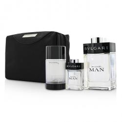 Man Coffret: Eau De Toilette Spray 100ml/3.4oz + Travel Spray 15ml/0.5oz + Deodorant Stick 75ml/2.7oz  + Travel Pouch
