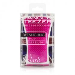 Aqua Splash Detangling Shower Brush - # Pink Shrimp (For Wet Hair)