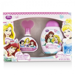 Disney Princess Coffret: Eau De Toilette Spray 100ml/3.4oz + Shower Gel & Shampoo 300ml/10.2oz