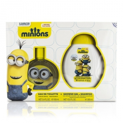 Minions Coffret: Eau De Toilette Spray 100ml/3.4oz + Shower Gel & Shampoo 300ml/10.2oz