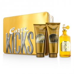 Curve Kicks Coffret: Eau De Toilette Spray 100ml/3.4oz + Body Lotion 100ml/3.4oz + Shower Gel 100ml/