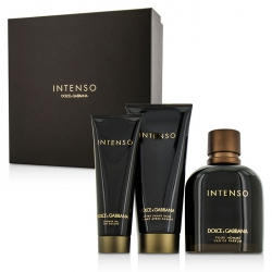 Intenso Coffret: Eau De Parfum Spray 125ml/4.2oz + After Shave Balm 75ml/2.5oz + Shower Gel 50ml/1.6oz