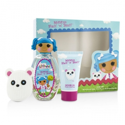 Mittens Fluff 'N' Stuff Cute Coffret: Eau De Toilette Spray 100ml/3.4oz + Shower Gel 75ml/2.5oz + French Barrette
