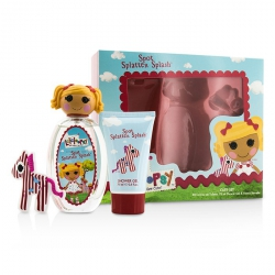 Spot Splatter Splash Cute Coffret: Eau De Toilette Spray 100ml/3.4oz + Shower Gel 75ml/2.5oz + French Barrette