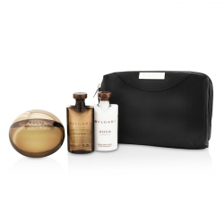 Aqva Amara Coffret: Eau De Toilette Spray 100ml/3.4oz + After Shave Balm 75ml/2.5oz + Shower Gel 75ml/2.5oz + Pouch