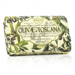 Natural Soap With Italian Olive Leaf Extract  - Olivae Di Toscana