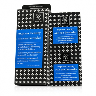 Express Beauty Moisturizing & Antioxidant Mask with Sea Lavender