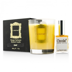 Scented Candle - Chocolat (with Room Frangrance Spray 15ml/0.5oz)