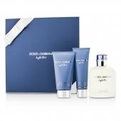 Homme Light Blue Coffret: EDT Spray 125ml/4.2oz + After Shave Balm 75ml/2.5oz + Shower Gel 50ml/1.6o