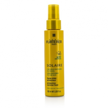 Solaire Waterproof KPF 90 Protective Summer Fluid - Natural Effect (High Protection For Hair Exposed To The Sun)