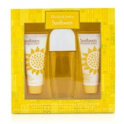 Sunflowers Coffret: Eau De Toilette Spray 100ml/3.3oz + Body Lotion 100ml/3.3oz + Hydrating Cream Cleanser 100ml/3.3oz